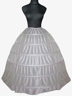 Underskirt/Petticoat/Crinoline for Ball Gown Dress with Train 3 Hoop 3 Layers
