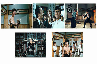 Bruce Lee - Fist Of Fury  - Set Of 5 - A4 Photo Prints