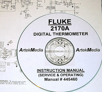 FLUKE INSTRUCTION MANUAL For Model 2170A Digital Thermometer