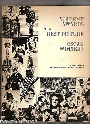 #YY.  TWELVE BOOKS ON THE ACADEMY AWARDS, OSCARS  1970s to 1980 PUBLICATIONS