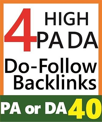 High PA40+ DA 30+ Quality Backlinks, Genuine Website SEO, Rank 1st on Google*