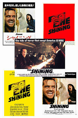 The Shining - Set Of 5 - A4 Poster Prints # 1