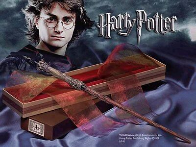 Harry Potter - Harry Potters Wand with Ollivanders Box Noble Collection NN7005