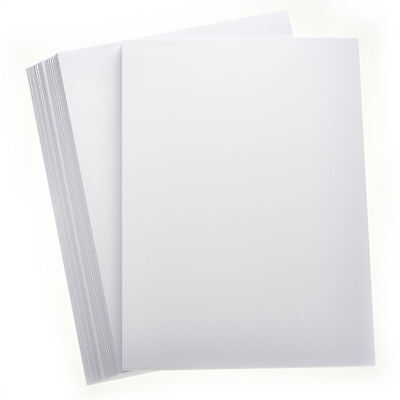 100 x A4 PREMIUM SMOOTH THICK WHITE DECOUPAGE CRAFT MOUNT BUSINESS CARD 300gsm