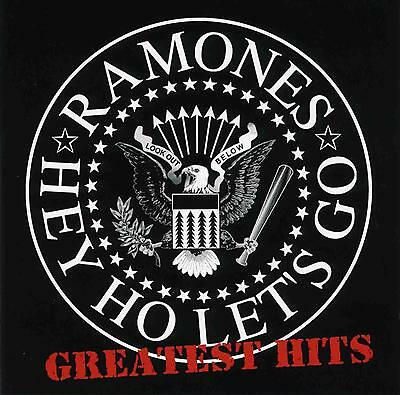 RAMONES ( NEW SEALED CD ) HEY HO LET'S GO / 20 GREATEST HITS / THE VERY BEST OF