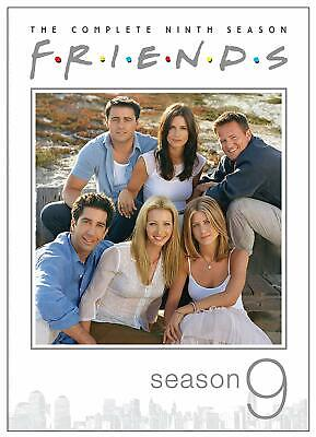 Friends TV Series ~ Complete 9th Ninth Season 9 Nine ~ BRAND NEW 4-DISC DVD SET