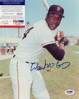 Willie Mccovey Signed 8X10 Photo Signed Psa Authentic I29055 Sf Giants Autograph
