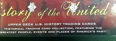 United States US History 300 Trading Cards Box Set 2004 Upper Deck Sealed NEW