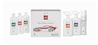 Autoglym Perfect Bodywork & Wheels Collection Kit Auto Car Care Cleaning Set New