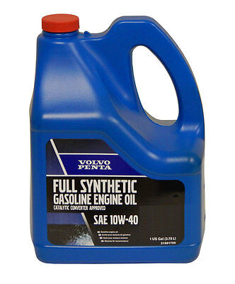 Volvo 10W40 Synthetic Marine Engine Oil - Pick Size