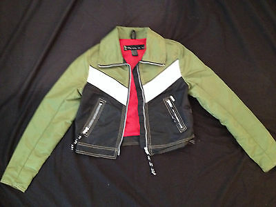 Britney Spears Owned Worn! GX Jacket,Green,red,photo shoot,Reg Jones collection!