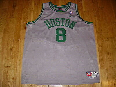 cff80aa2f44 Vtg Nike Rewind ANTOINE WALKER 1963 BOSTON CELTICS NBA Swingman Team JERSEY  XXL