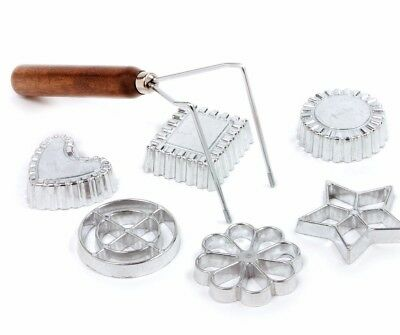 NORPRO 3286 Swedish Rosette Cookie and Timbale Pastry 7 pc