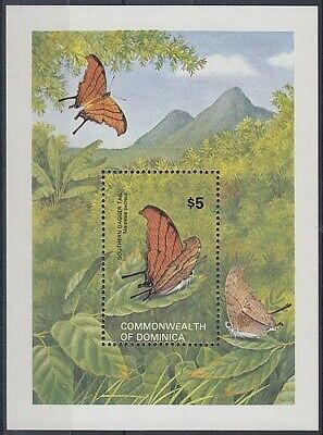 Dominica 1982 Butterfly M/s Uhm (Id:779/d24496)