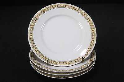 Set of 4 Bread & Butter Plates GRANVILLE by TIRSCHENREUTH P.T. Bavaria Germany