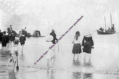 rp13292 - Mablethorpe Lifeboat Launching 1904 - photo 6x4