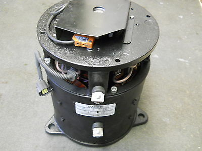 Baker 1002123 Electric Motor 80Vdc Remanufactured Warfield Electric