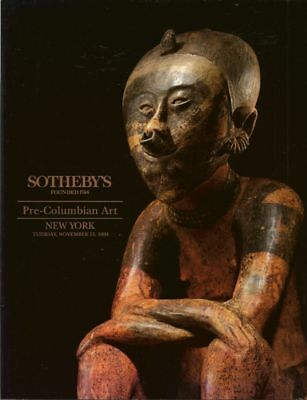 SOTHEBY'S PRE-COLUMBIAN ART PERU MAYA GOLD Auction Catalog 1994