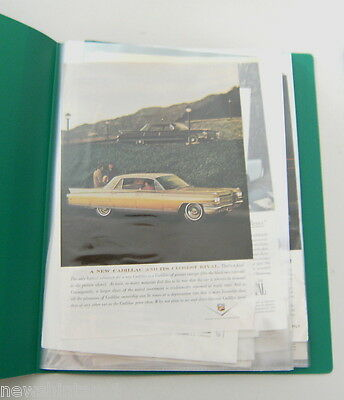 #T15.  36 USA MOTOR CAR ADVERTISEMENTS, 1950s - 1960s