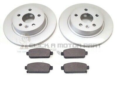 Vauxhall Astra H 1.4 118 Rear Brake Pads Discs 264mm Solid