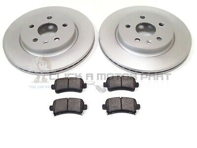 FOR VAUXHALL INSIGNIA REAR BRAKE DISCS SOLID AND BRAKE PADS SET PREMIUM QUALITY