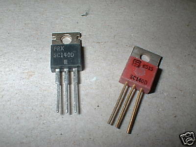 Lot Of 10, Sc140D 400V 6A Triac ,box#70