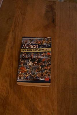 AFL Record Season Preview 2005 Pocket Guide