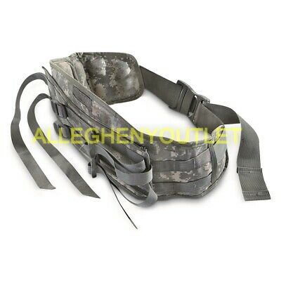 US Military MOLLE ACU MOLDED WAIST BELT Kidney Pad for Large RUCKSACK RUCK VGC