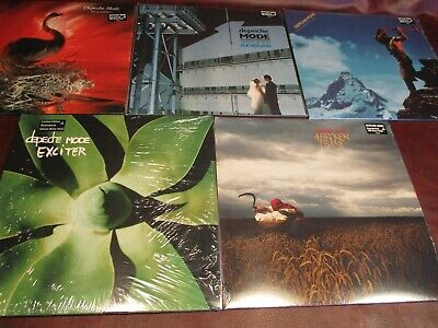 Depeche Mode Audiophile Deluxe Factory Sealed Limited Edition 8 Lp 2007 Editions