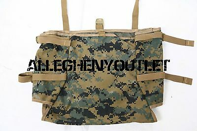 USMC ILBE MarPat RADIO UTILITY POUCH Gen 2 Tan for ILBE Mainpack NEW