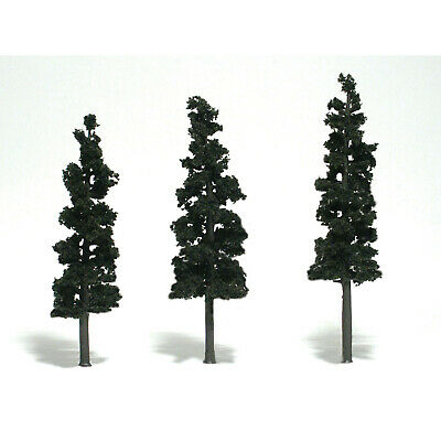 NEW Woodland Scenics Assembled Conifer Pine Green 7  TR1562