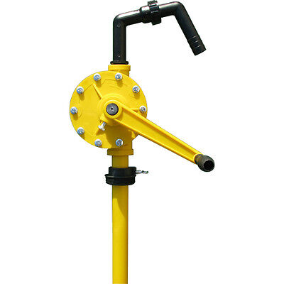 TERAPUMP - 55 Gallon Drum Rotary Barrel Hand Pump Water or Petroleum Fluids