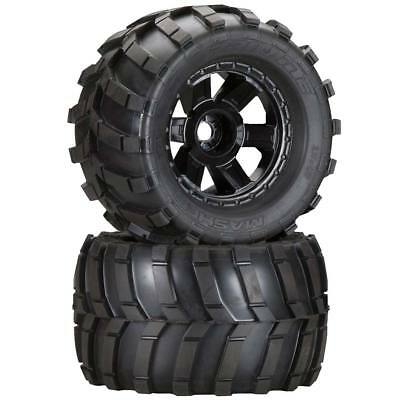 NEW Pro-Line Masher 3.8  All Terrain Tires Mounted Desp Blk 1189-11
