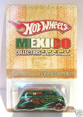 Hot Wheels Mexico Convention Deco Delivery Limited New