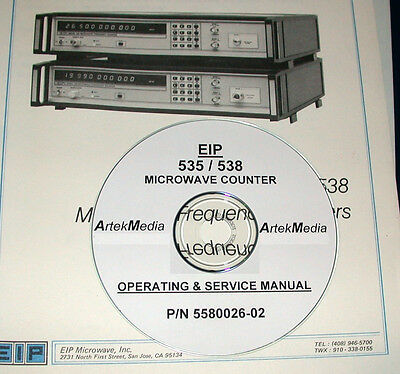 Eip 535 538 Microwave Frequency Counter, Operating And Service Manual