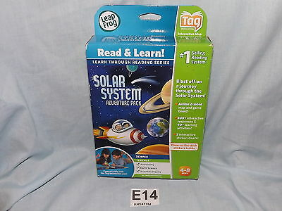 LEAPFROG TAG SOLAR SYSTEM ADVENTURE PACK NEW! 4-8 YEARS! E14