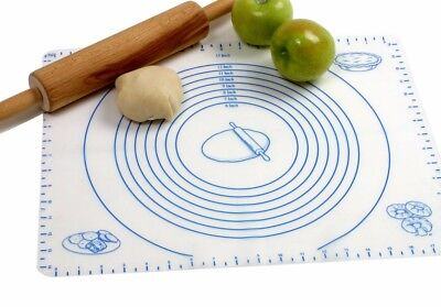 Norpro 42 Silicone Pastry Mat Baking Sheet Liner Measures Dough or Pie Crusts