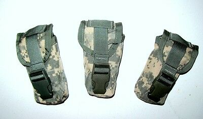 LOT OF 3 US Army Military Surplus SDS MOLLE II ACU Flashbang Grenade Pouch XC