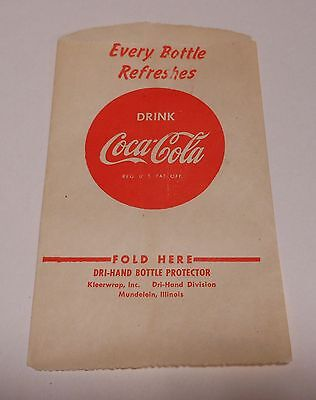 "Vintage Coca Cola 1948 Dry Server ""Every bottle Refreshes""   #9"