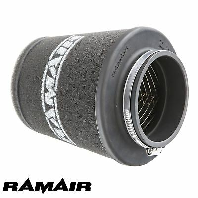 RAMAIR INDUCTION FOAM CONE AIR FILTER UNIVERSAL WIDE 70mm MADE IN THE UK