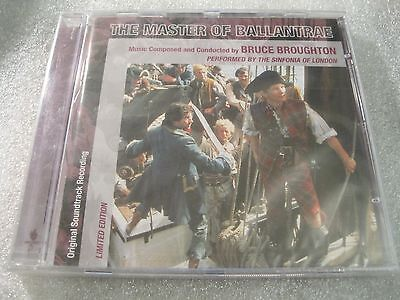 THE MASTER OF BALLANTRAE Limited Edition Soundtrack by Bruce Broughton [CD]