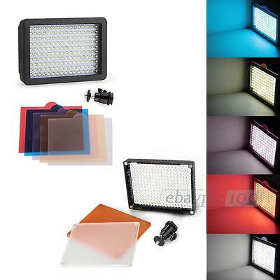 Super Color CN160 LED Video Light Dimmable for Nikon Canon DSLR Camera Camcorder