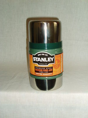 Stanley Stainless Steel Classic Green Food Flask 0.5 Litre