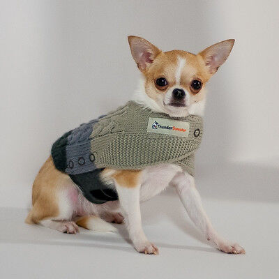 THUNDER SWEATER w/ THUNDERSHIRT COMBO Dogs RELIEVES STRESS & ANXIETY  XXS-XL