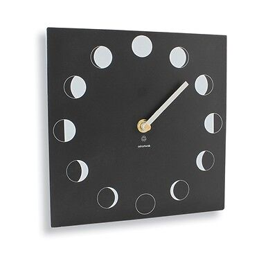 Moon Phase Clock, Tracks the Lunar Cycle, Recycled Material, Indoor or Outdoor