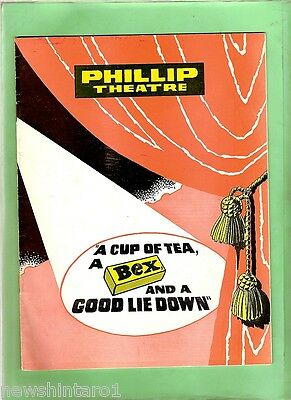 #t20.  1965 Phillip Theatre Program, Cup Tea, Bex, Good Lie Down