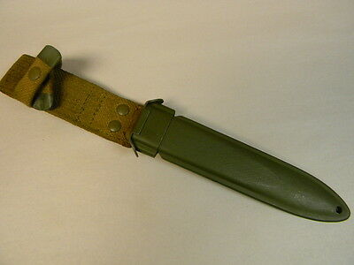 Italian Army Issue M8A1  Scabbard