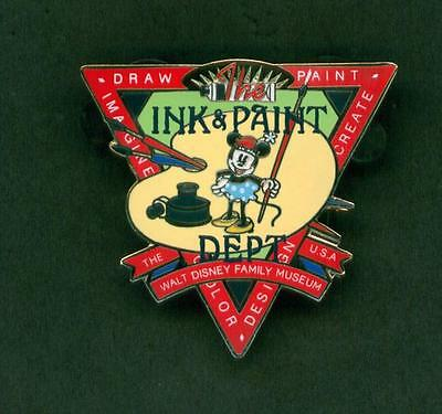 Disney Pins Ink & Paint Minnie Mouse The Walt Disney Family Museum