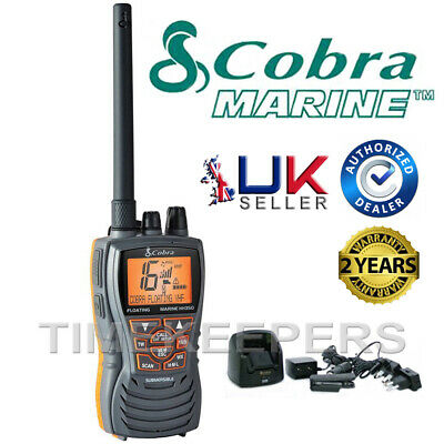 COBRA MR HH350 EU VHF Marine Submersible Floating Radio Kayak Boat Vessel Yacht