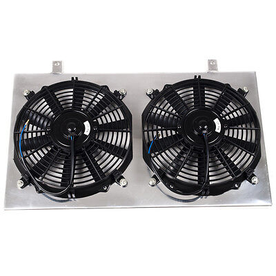 Nissan Skyline R33 Gts-T Gtst Alloy Radiator Fan Shroud 12V 80W Electric Fan Kit